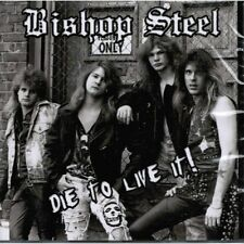 BISHOP STEEL Die To Live It ! CD ( o18a ) 80ties US-Metal 162246