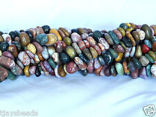 Ocean Jasper Small Nugget Beads 5-8mm