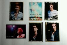 LOT OF 6PCS A ROCKET TO THE MOON PROMO MUSIC FLYER BUSINESS TRADING CARD SIZE