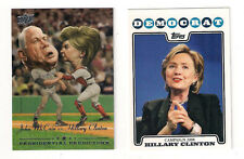 2008 TOPPS DEMOCRAT HILLARY CLINTON CAMPAIGN INSERT CARD #CO8-HC