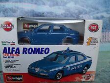 1/43 Burago  (Italy) Alfa Romeo 156 Police  kit