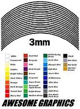 3MM WHEEL RIM TAPE FIT ANY DUCATI rossi rep APRILIA rsv TRIUMPH triple BMW rr TT