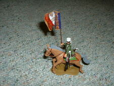 Britains DSG Herald  1/32 54mm Mounted French Dragoon - flag bearer