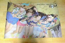 f(x) FX 2nd Mini Album - Electric Shock *Official POSTER* KPOP
