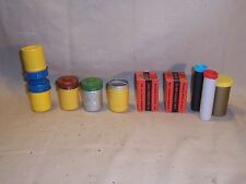 Vintage Lot of Kodak Sears Polaroid Some Metal Film Canisters Holders Cases