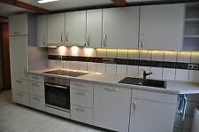 Einbauküche nobilia 5,5m lang mit NEFF E-Geräten