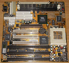Sockel 7 128MB SDRAM EDO ISA 16Bit PCI AGP AT Mainboard 591PWIQC VIA Apollo MVP3