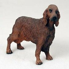 IRISH SETTER Dog HAND PAINTED FIGURINE Resin Statue COLLECTIBLE Puppy NEW