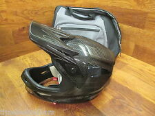 SPECIALIZED DISSIDENT FULL FACE CARBON HELMET EXTRA LARGE W/ GO PRO MOUNT & BAG