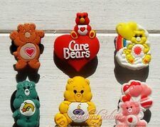 6Pcs Loveable Care Bears Shoe Bracelet Charms