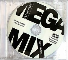 Pet Shop Boys Megamix (1991 Remixes) Audio CD