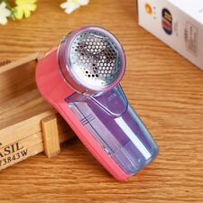 Electric Fuzz Cloth Coat Lint Remover Wool Sweater Fabric Shaver Trimmer WE
