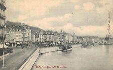 Liege,Belgium,Quai de la Batte,Used,1907