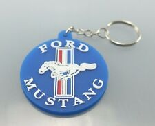 ROCK LOGO KEYCHAIN KEYRING RUBBER CAR MOTOR MOTORCYCLE BIKE MUSTANG muscle