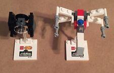 Star Wars Celebration 2015 Lego Mini Tie Fighter and Mini X Wing Exclusive Promo