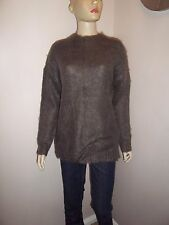 Ladies Primark jumper sweater top turtle neck hairy slouchy size 10 UK 38 new