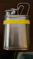 EAGLE MFG. CO. 1301 ONE GALLON STAINLESS STEEL EXCELLENT CONDITION