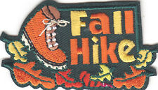 """FALL HIKE"" IRON ON EMBROIDERED PATCH - SPORTS, HIKER, AUTUMN, HIKE"