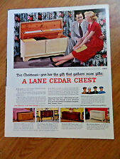 1951 Lane Cedar Hope Chest Ad   Christmas Gifts