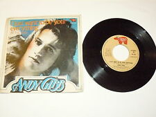 "ANDY GIBB ""I JUST WANT TO BE YOUR EVERYTHING"" disco 45 gg RSO It 1977 BEE GEES"