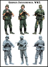 Evolution Miniatures 1:35 WWII German Infantryman Resin Figure Kit #EM-35141
