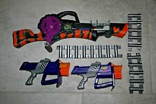 Nerf Max Force Razorbeast Machine Dart Gun Belt Chainblazer Razor Beast RARE LOT