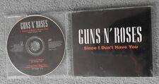 Guns n' Roses - Since I Don't Have You - Original UK 3 TRK CD Single