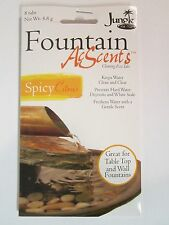 Acscents Water Treatment tablets for Table Top Wall Fountains Spicy Citrus