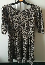 Atmosphere Girls Leopard Print Dress - Size 10