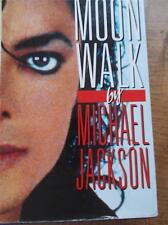 MOON WALK by MICHAEL JACKSON Rare Publisher His Public & Private Life Childhood