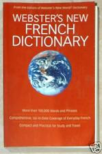 WEBSTER'S NEW FRENCH DICTIONARY ~ MORE THAN 100,000 WORDS & PHRASES ~ PB