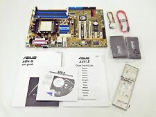 NEW RETAIL ASUS A8V-X VIA K8T800PRO AMD Socket-939 8X AGP SATA ATX Motherboard