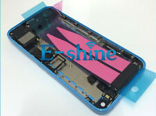 NEW IPHONE 5C REPLACEMENT BACK HOUSING LIGHT BABY BLUE COMPLETE WITH PARTS
