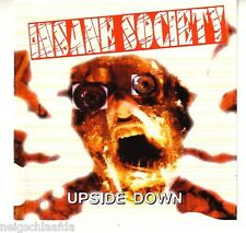 INSANE SOCIETY – UPSIDE DOWN CD blitz infa riot punk oi!