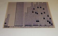 Microfich Ersatzteilkatalog Fiat Tipo MQ / 93 1370 - 1580 Stand 03/1993