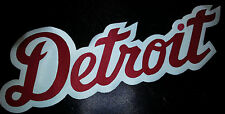 "HUGE DETROIT RED WINGS IRON-ON PATCH - 4"" x 11"""
