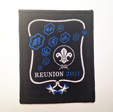 22nd World Scout Jamboree WOOD BADGE REUNION BADGE 2011