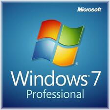 Windows 7 Professional 64 bit SP1 full install DVD with license key & RAM