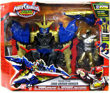 POWER RANGERS DINO CHARGE DELUXE PTERA ZORD ARMOR AND 12.5CM GOLD ACTION FIGURE
