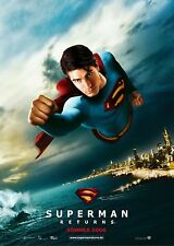 SUPERMAN RETURNS movie poster BRANDON ROUTH poster  12 x 17 inches