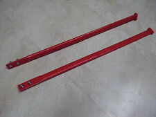 GEN 1 ONE SIMMONS SKIS SKI FRONT TIPS STRAPS LOOPS GRAB HANDLES FLEXI RED RD NEW