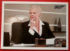JAMES BOND - Quantum of Solace - Card #031 - M Deduces That Gregory Beam Lied