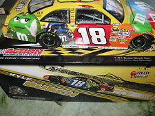 Kyle Busch 1:24 Scale Nascar Stock Car M&M Racing limited edition 1 of 8,609