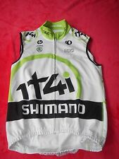 Original Shimano 1T4i Team Pearl Izumi Cycling Soft Shell Winter Weste Rar