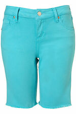 TOPSHOP MOTO cycling shorts UK 12 in Turquoise - New with tags