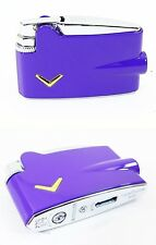 Ronson Purple Mini Varaflame Lighter Special Edt Iconic Design New & Gift Boxed