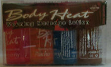 Body Heat Edible Warming Massage Lotion 4 Pack Sampler 1oz Sexy Hot Personal Oil