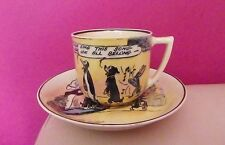 VERY RARE ROYAL DOULTON PIP, SQUEAK AND WILFRED TEACUP AND SAUCER D4741