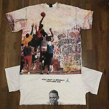 Rare Vintage Jordan Playground Shirt + Another Rare Jordan Shirt Nike 2 Shirts