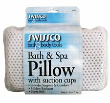 Swissco Bath and Spa Pillow with Suction Cups, New, Free Shipping